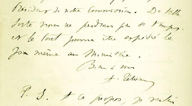 Connaissez-vous… Adolphe Tétreau (1840-1918) ?
