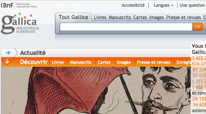Mémoloi sur le blog de Gallica !